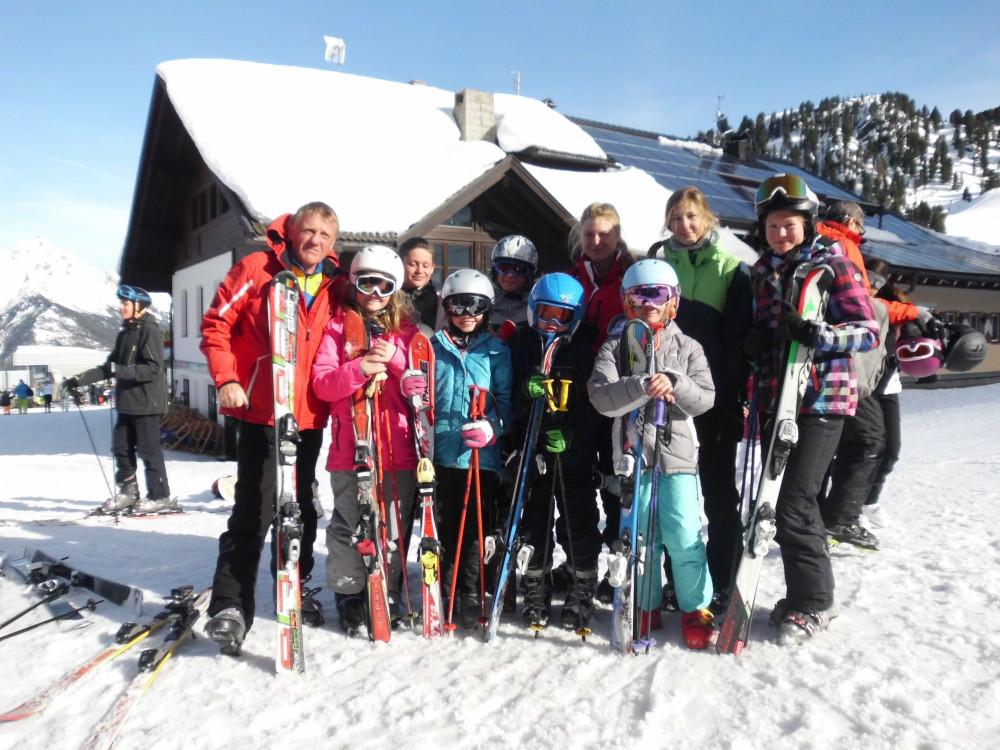 Wieder Zwei Schöne Und Tolle Skilager Der Leichtathleten Des Larg
